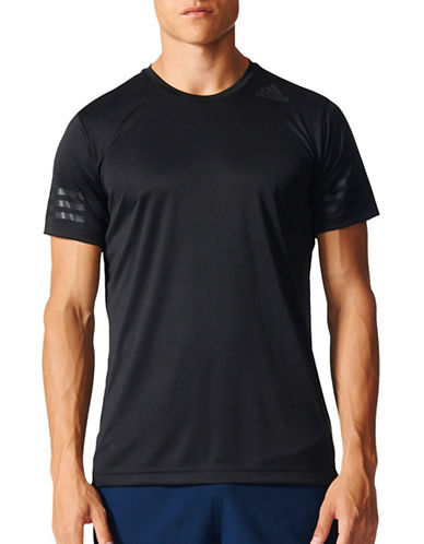 Adidas Freelift Climacool Training Tee-BLACK-Large