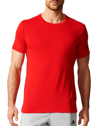 Adidas FreeLift Prime T-Shirt-RED-Large