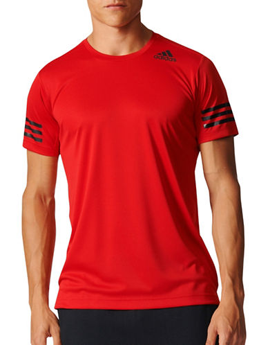 Adidas Free-Lift Climacool Tee-RED-Large 89196606_RED_Large