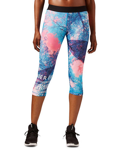 Reebok One Series Tree Capris-BLUE MULTI-Large 88477336_BLUE MULTI_Large