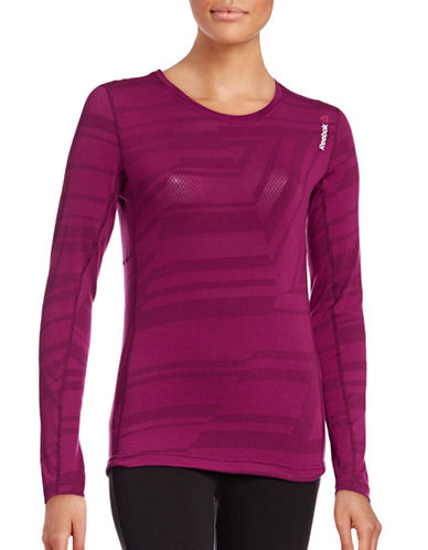 Reebok Slim Stretch Training Top-RED-Small 88737515_RED_Small