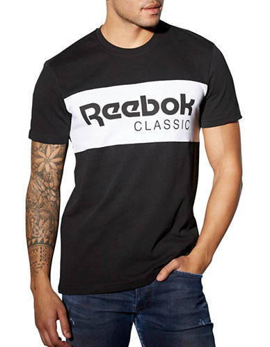 Reebok F Archive Graphic Stripe T-Shirt-BLACK-XX-Large 88512980_BLACK_XX-Large