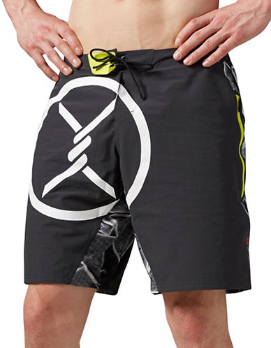 Reebok Spartan Pro Mud Shorts-GREY-Large 88778503_GREY_Large