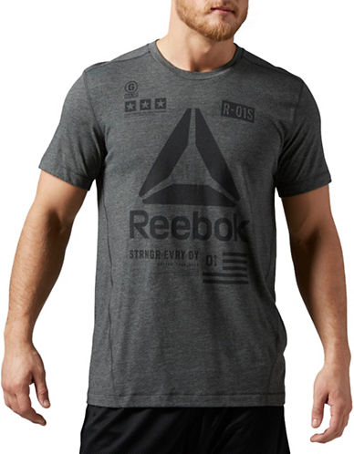 Reebok Speedwick Delta T-Shirt-GREY-XX-Large 88654174_GREY_XX-Large