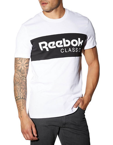 Reebok F Archive Graphic Stripe T-Shirt-WHITE-X-Large 88512969_WHITE_X-Large