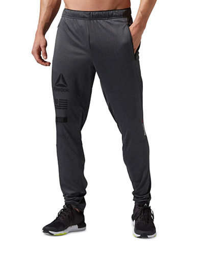 Reebok One Series Knit Trackster Pants-GREY-Small 88512940_GREY_Small