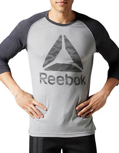 Reebok Camo T-Shirt-GREY-Small 88889971_GREY_Small