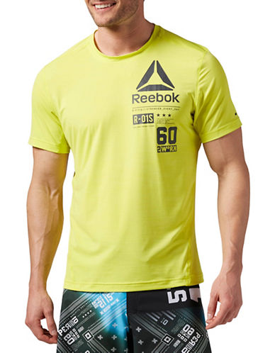 Reebok ONE Series ACTIVChill T-Shirt-YELLOW-Medium 88512914_YELLOW_Medium