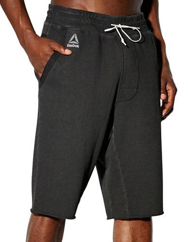 Reebok RNF Washed Shorts-BLACK-Medium 88512904_BLACK_Medium
