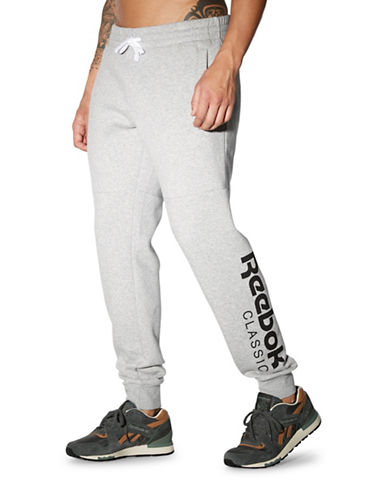Reebok Fleece Graphic Sweatpants-GREY-XX-Large 88512964_GREY_XX-Large