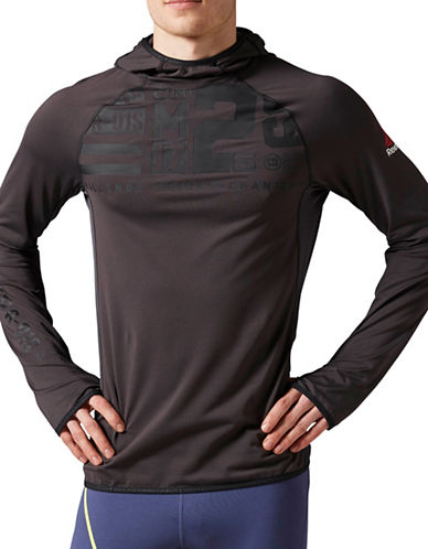 Reebok Scuba Hood Thermal Shirt-BLACK-Medium 88654176_BLACK_Medium