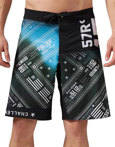 Reebok Brandana Swim Shorts-BLUE-Medium 88654216_BLUE_Medium