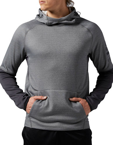 Reebok ONE Series Delta Hoodie-GREY-Small 88512924_GREY_Small