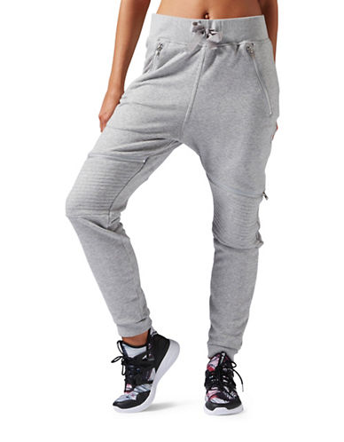 Reebok Knit Moto Jogger Pants-GREY-Large 88477345_GREY_Large