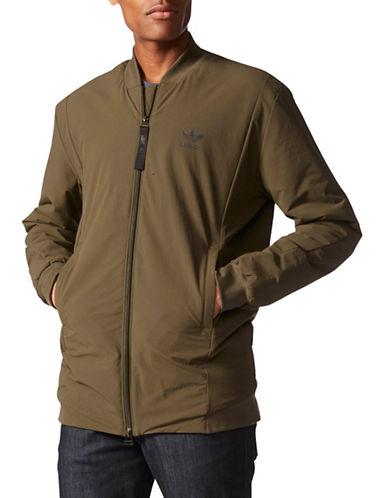 Adidas Street Modern Bomber Jacket-BROWN-Large 88889571_BROWN_Large