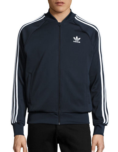 Adidas Zip Track Jacket-BLUE-Small 88424316_BLUE_Small