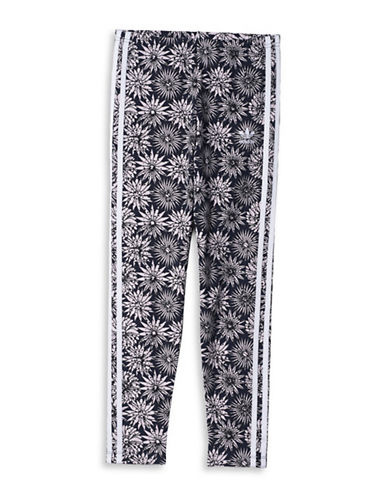 Adidas Floral Jersey Leggings-BLACK-Medium 88793024_BLACK_Medium