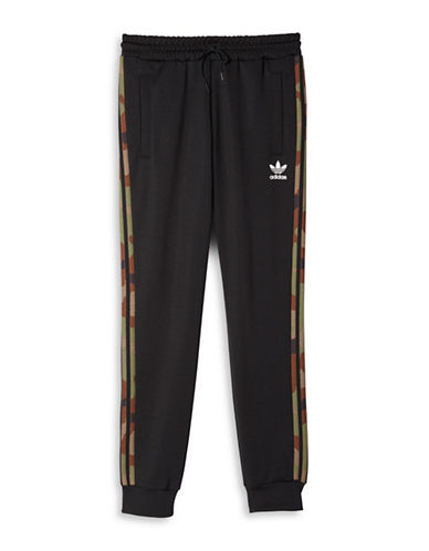 Adidas Slim Fit Track Pants-BLACK-Large 88424363_BLACK_Large