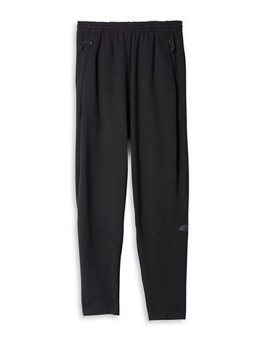 Adidas Elasticized Waist Sweatpants-BLACK-Medium 88517214_BLACK_Medium