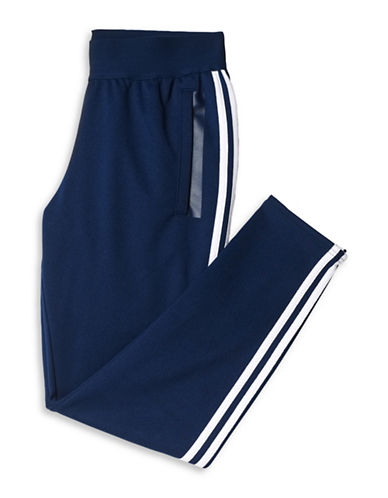 Adidas Three Stripe Tapered Track Pants-NAVY-Medium 88468956_NAVY_Medium