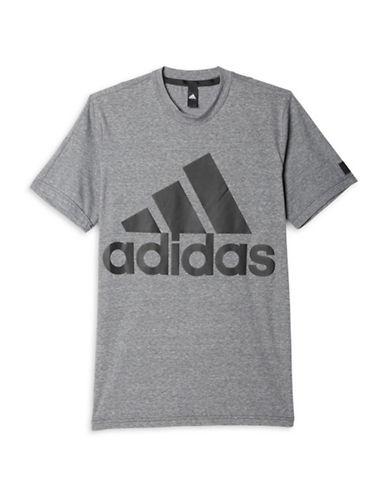 Adidas Big Logo Crew Neck T-Shirt-BLACK-Small 88779420_BLACK_Small