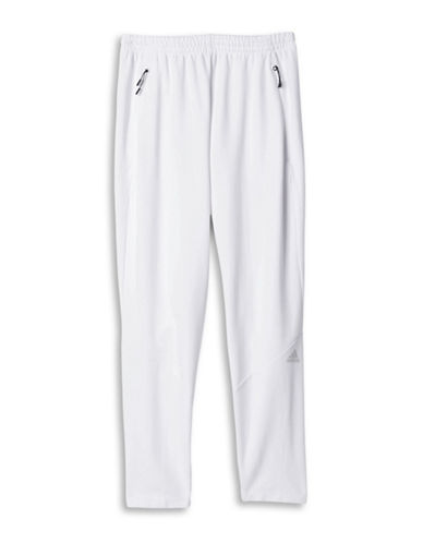 Adidas Z.N.E. Elasticized Waistband Pants-WHITE-Medium 88517182_WHITE_Medium