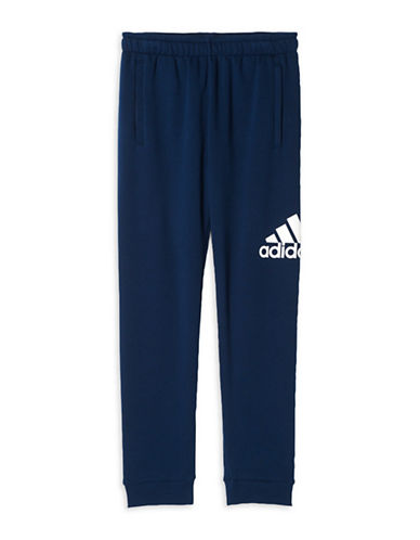 Adidas Essentials Logo Sweatpants-BLUE-Large 88779413_BLUE_Large