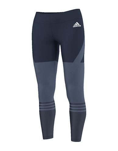Adidas Colourblock Leggings-BLUE-Small 88791587_BLUE_Small
