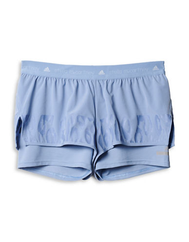 Stella Mccartney Studio High Intensity Two-In-One Shorts-BLUE-Large 88454837_BLUE_Large