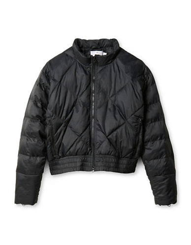 Stella Mccartney Essentials Padded Jacket-BLACK-Small 88454879_BLACK_Small