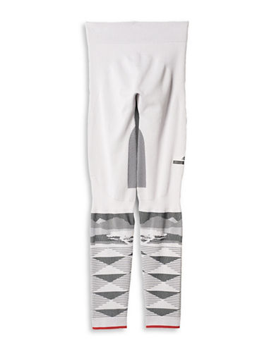 Stella Mccartney Winter Sport Seamless Tights-WHITE-Medium 88690683_WHITE_Medium