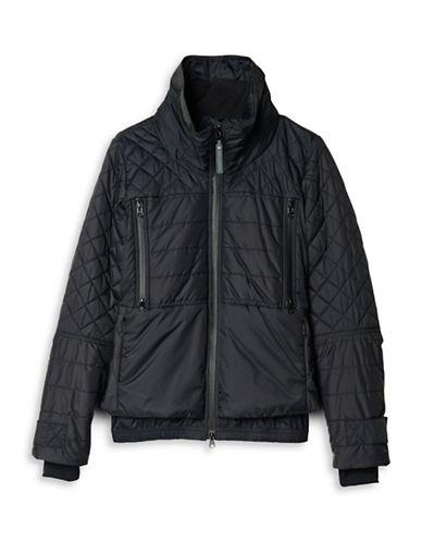 Stella Mccartney Winter Sport Slim Jacket-BLACK-Large 88690687_BLACK_Large