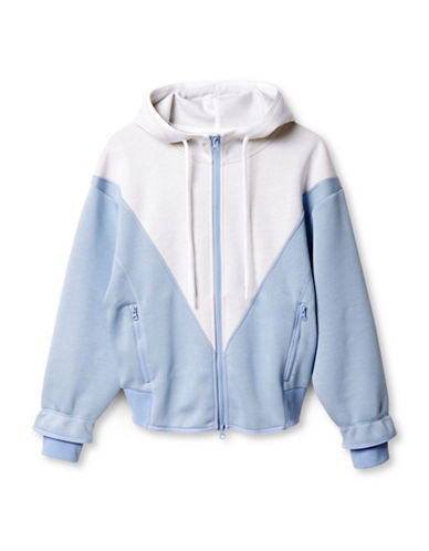 Stella Mccartney Studio Hoodie-BLUE/WHITE-Medium 88454832_BLUE/WHITE_Medium