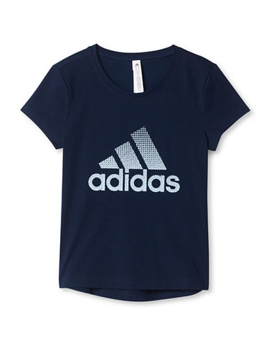 Adidas Athletic Logo Tee-NAVY-Medium 88658382_NAVY_Medium