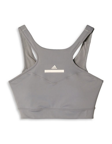 Stella Mccartney Hiit Sports Bra-GREY-Medium 88690698_GREY_Medium
