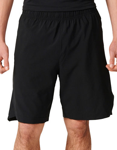 Adidas Aeroknit Woven Shorts-BLACK-Medium 88779347_BLACK_Medium