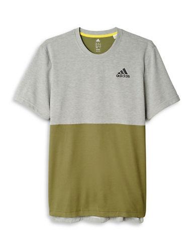Adidas Athlete ID Short Sleeve Tee-GREEN-Medium 88424302_GREEN_Medium