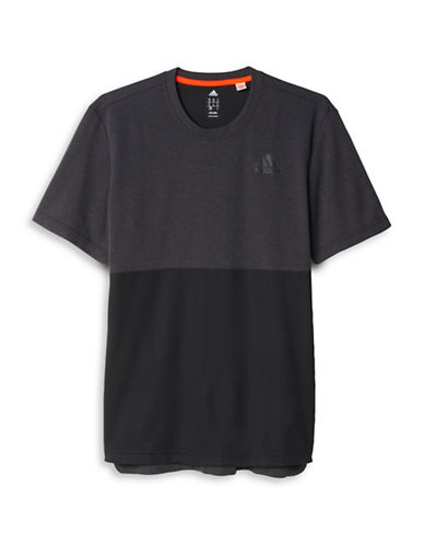 Adidas Athlete ID Short Sleeve Tee-BLACK-Large 88424298_BLACK_Large