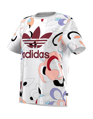 Adidas Paint-by-Numbers Active T-Shirt-WHITE-Small 88560986_WHITE_Small