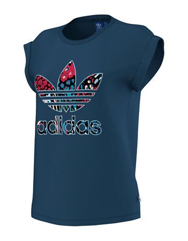 Adidas Boyfriend Roll-Up T-Shirt-BLUE-Medium 88734213_BLUE_Medium