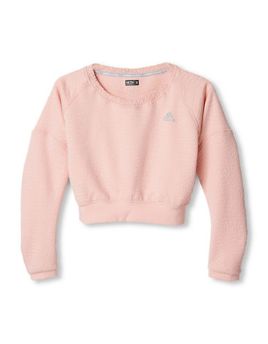 Adidas aktiv Cropped Pullover-PINK-Small 88468844_PINK_Small