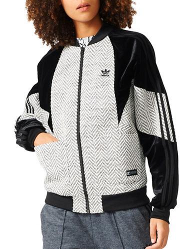 Adidas Zip Front Track Jacket-WHITE-Large 88923944_WHITE_Large