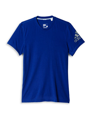 Adidas Prime Slim Fit T-Shirt-BLUE-X-Large 88424329_BLUE_X-Large