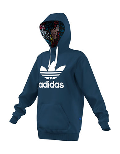 Adidas Long Hoodie-BLUE-X-Small 88734215_BLUE_X-Small