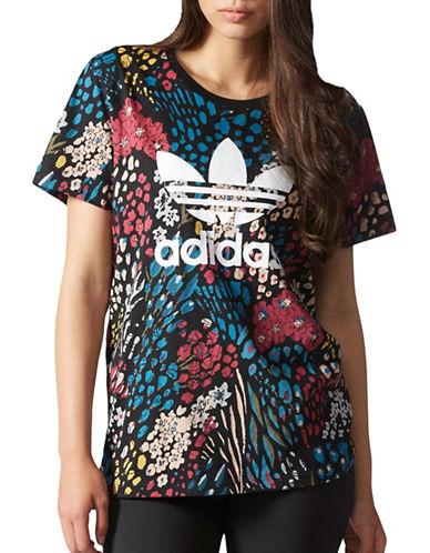 Adidas Floral Trefoil Tee-MULTICOLORED-Medium 88923966_MULTICOLORED_Medium