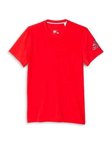 Adidas Prime Slim Fit T-Shirt-RED-Large 88424333_RED_Large