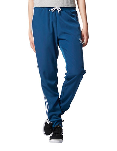 Adidas Cuffed Track Pants-BLUE-Medium 88734226_BLUE_Medium