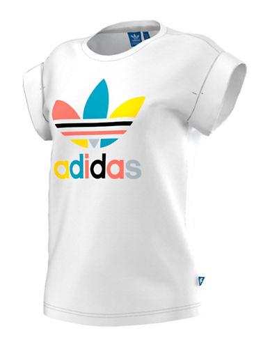 Adidas Logo Tee-WHITE-X-Small 88468945_WHITE_X-Small