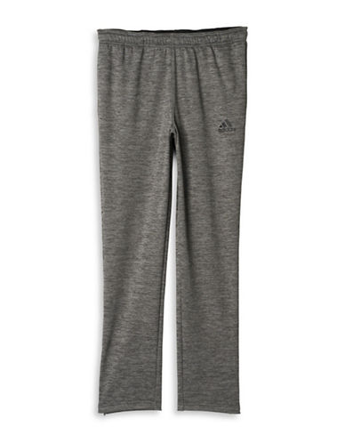 Adidas Team Issue Fleece Pants-GREY-Small 88674513_GREY_Small