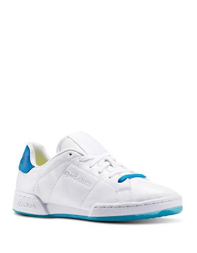 Reebok NPC II NE FACE Sneakers-WHITE/BLUE-10 88461245_WHITE/BLUE_10